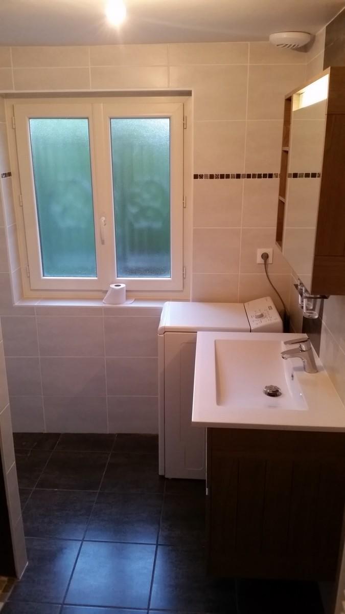 Peinture Salle De Bain Hydrofuge ~ r alisation d une salle de bain avec douche a l italienne et